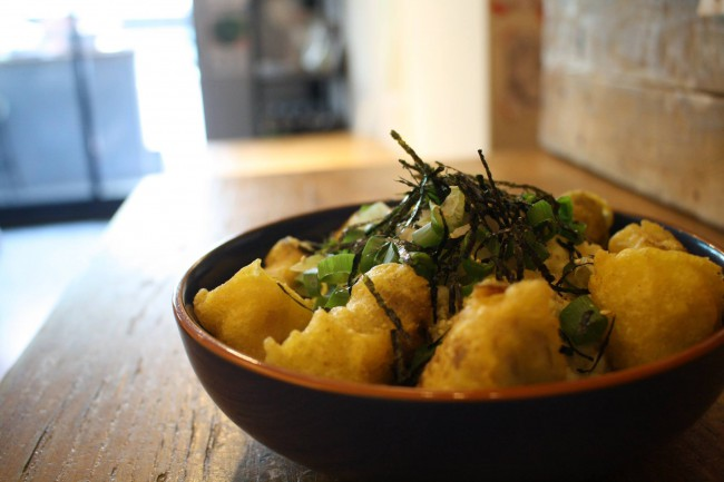 日 式 炸 菇 蓋 飯