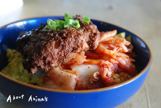 韓式豆腐卡滋蓋飯